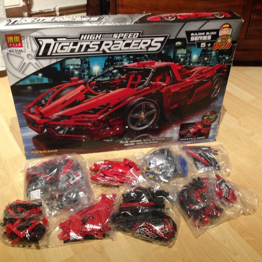 Bela 9186 Ferrari Enzo As Lego 8653 Technic New In