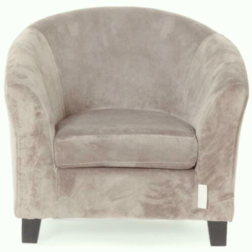 QUAX: Kinder Sofa VELOURS Taupe **Super-Promo**