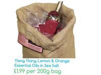 Ylang Ylang, Lemon & Orange Bath Salts