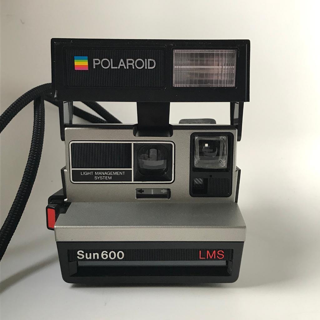 Polaroid Sun 600 Camera Mint In Trafford Manchester Gumtree # Modele Table Tele