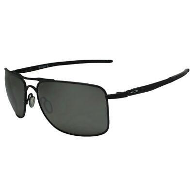 Oakley OO 4124-02 Polarized Gauge 8 L Matte Black Prizm Iridium Sunglasses .