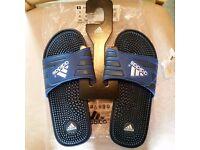Adidas Addisage slides sandals 42(8 UK) brand new