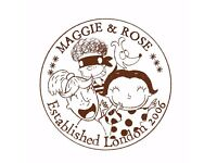 Management Accountant for Maggie & Rose