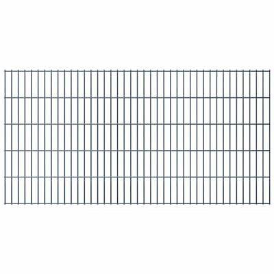 2D Garden Fence Fencing Panel Outdoor Farm Field Enclosure Steel 2008x1030 mm