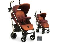 ICOO PACE MOCCA STROLLER PUSHCHAIR BABY BUGGY + BOOTCOVER