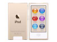 New Apple iPod Nano 16GB 7th Generation GOLD