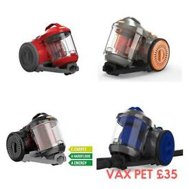 Free delivery vax bagless vacuum cleaner hoovers