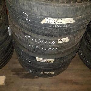 One tire size 225 60 18 for sale
