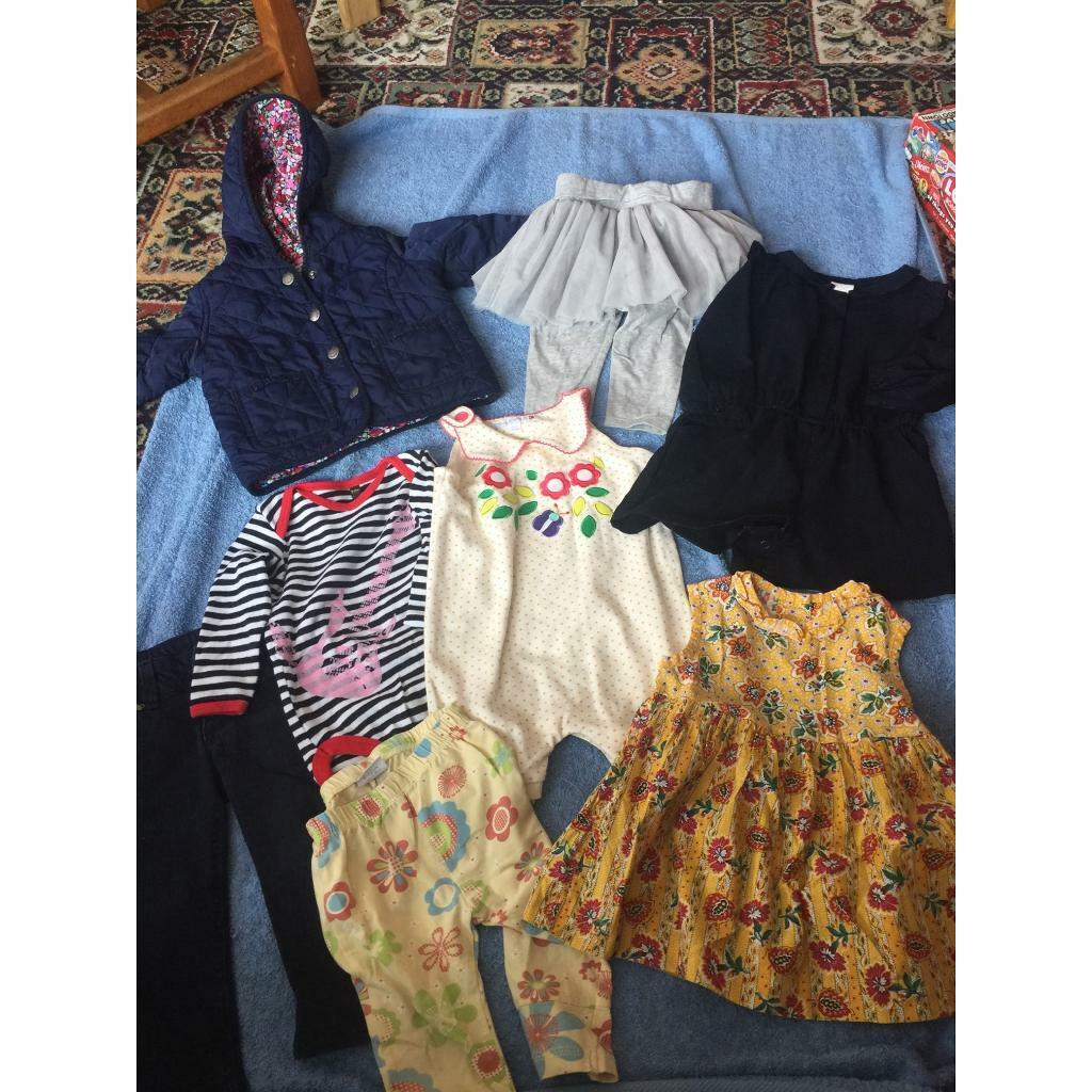 3c0bfd5fd BABY GIRLS CLOTHES AGE 6-12 MONTHS | in Great Barr, West ...