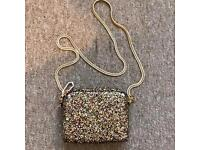 Gorgeous Sparkly River Island handbag