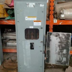 200 Amp, 5 KV Square D enclosed disconnect switch