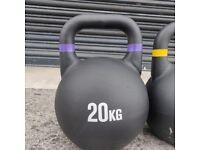 Cast Iron 20kg Kettlebells. UK, NI & ROI