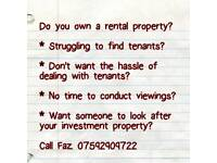 Are you a tired landlord?