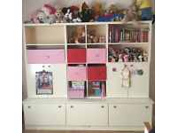 Storage unit for kids room