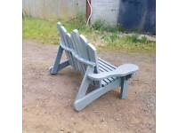 Hand made bespoke garden chair,bench,patio,deckchair furniture
