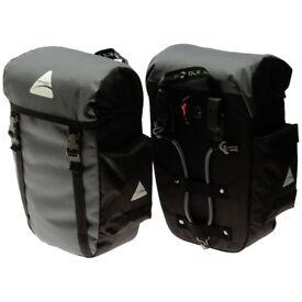 Pannier Bag Set - 30 litre Capacity | Water proof pannier bags | Cycle bags