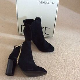 BRAND NEW NEXT LADIES ANKLE BOOTS SIZE 6