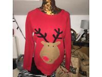 Primark size 12 Christmas jumper