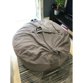 Giant memory foam bean bag