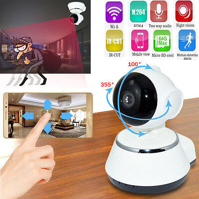Wireless Pan Tilt HD 720P Security Network CCTV IP Camera Night Vision WIFI IR