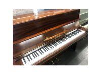 Welmar light mahogany upright piano