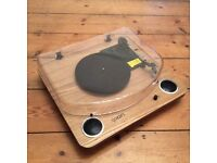 Nearly New - Max LP conversion turntable with stereo speakers