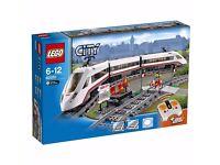 Lego City sets 60051, 60052, 7937, high speed train, cargo train, train station