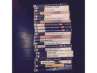 PSP games and videos