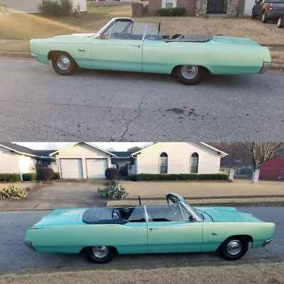 1967 Plymouth Fury 3 1967 Plymouth Fury 3 Convertible with 440