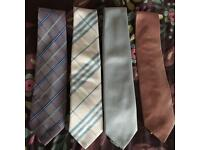 Lovely set of men's ties x4