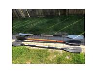 3 x Kayak Paddles