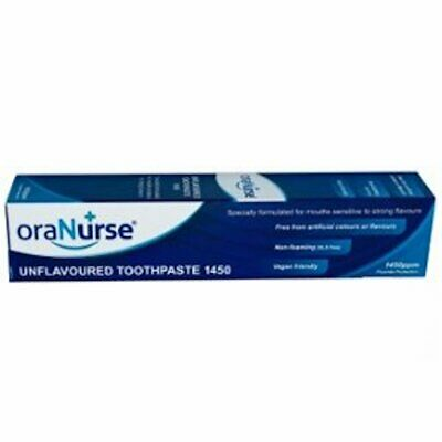 Oranurse 50ml Unflavoured Toothpaste x 1