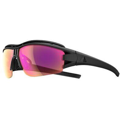 Adidas Evil Eye Halfrim Pro A19900 6099 XS Black Matte Vario Purple (Adidas Evil Eye Halfrim Pro Sunglasses)