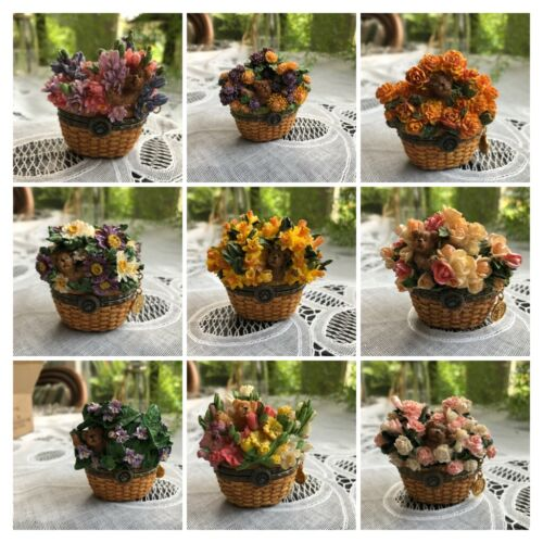 BOYDS COLLECTION - BEARY BLOSSOMS - HINGED BOX DISPLAY SAMPLES  - YOU CHOOSE