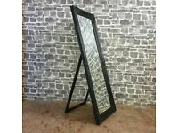 Free Standing Bevelled Mirror