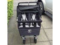 ABC Adventure Triple/Double Buggy in Black
