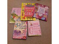 5 girls story books