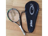 Adult Prince Focus Ti tennis racket with carry case - good condition £20