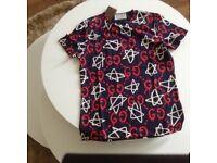 GG Gucci graffiti Tshirt size M