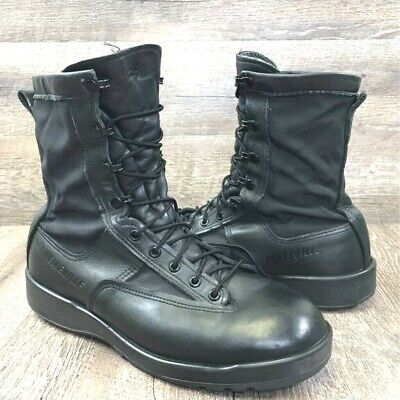 Belleville Men's Gore-Tex Insulated Black Leather Military Combat Boot USA 10 M Insulated Combat Boot