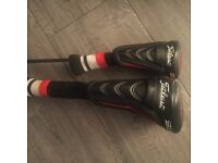 Full set of quality left handed clubs