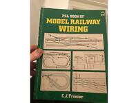 PSL Book of Model Railway Wiring £5 Collection from N17 6HL