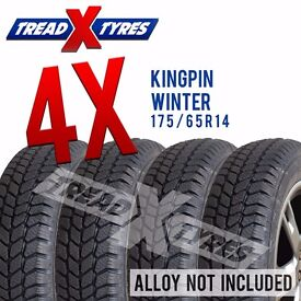 4 x New 175/65R14 Kingpin Winter Tyre - 175 65 14 - Fitting Available