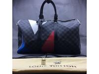 Louis Vuitton keepall Bandouliere 45 Regatta lv designer duffle travel bag designer 229.99
