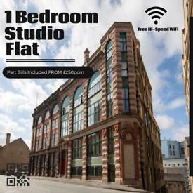 1 Bedroom Studio Apartment DSS Welcome Part Bills included