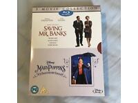Disney Mary Poppins & Saving Mr Banks Blu Rays