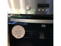 New Zanussi single electric oven