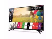 LG 43 inch Smart TV Wifi Builitn -Razor frame slim- Freeview HD - 1080p Full HD -