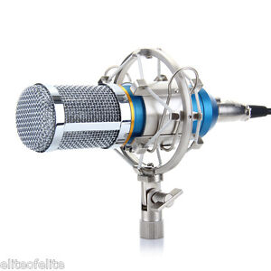 Professional Condenser Microphone Mic Sound Studio Recording Dynamic AU Shipping