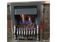 Verine Zenith Ultra coal effect living flame gas fire